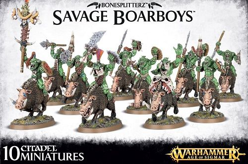 Orc Savage Boar Boyz