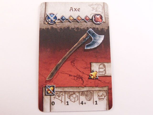 survivor equipment card (axe)