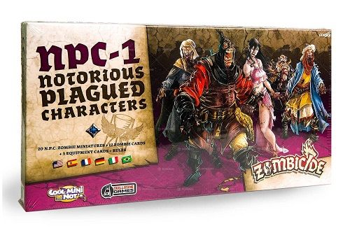 Zombicide Black Plague NPC-1